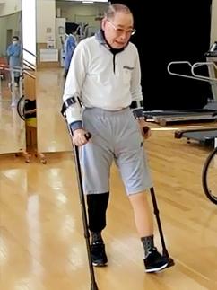 股義足はどうやって歩く?