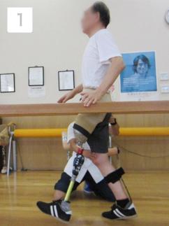 平行棒内歩行訓練