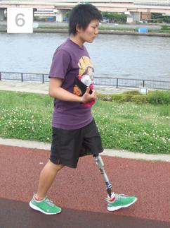 屋外歩行訓練
